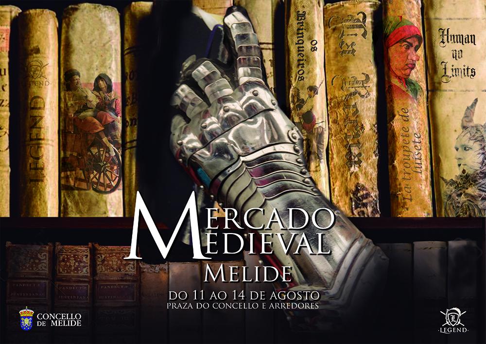 Mercado medieval en Melide de 11 al 14 de agosto