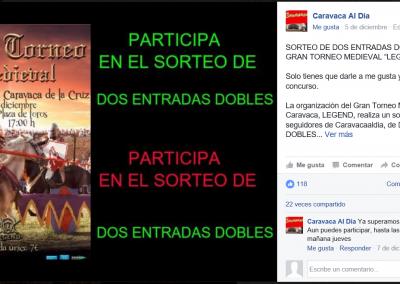Facebook Caravaca al día 05-12-16
